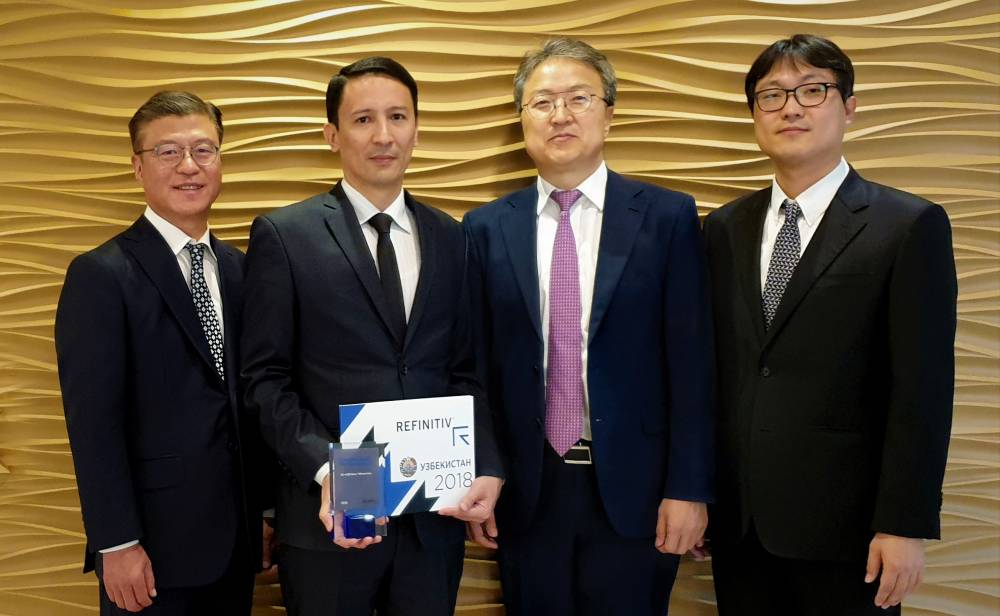 "KDB Bank Uzbekistan ""The most active user"" of FXT terminal"